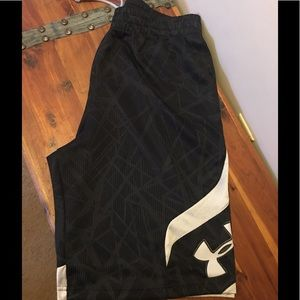 Under Armour loose shorts.